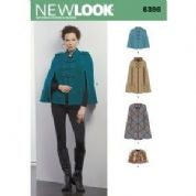 6396 New Look Pattern: Womans Cape